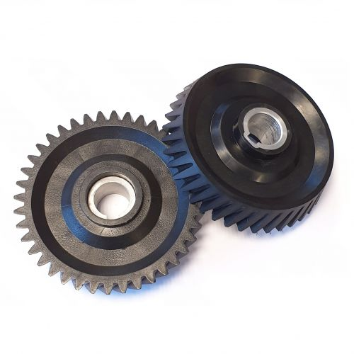 Black conical Gearwheel Z=40 | PL.40.009C