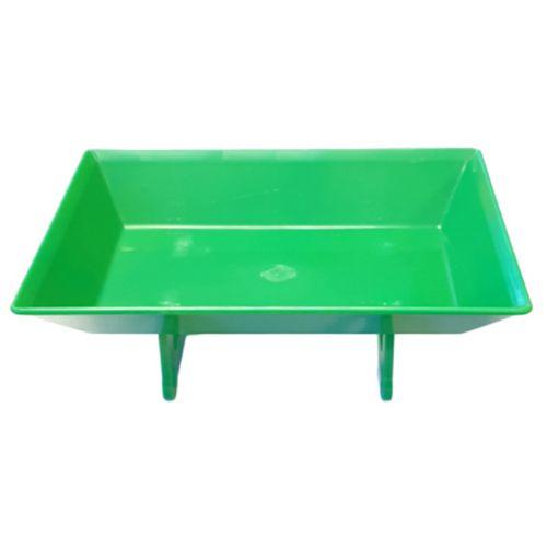 "Synthetic tray, green 6"" | PC.10.004"