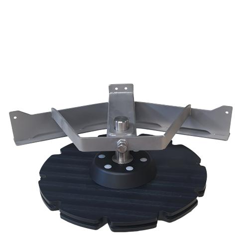 Compl. T-track bend 45º D=485 | OC.10.485.045.106Z