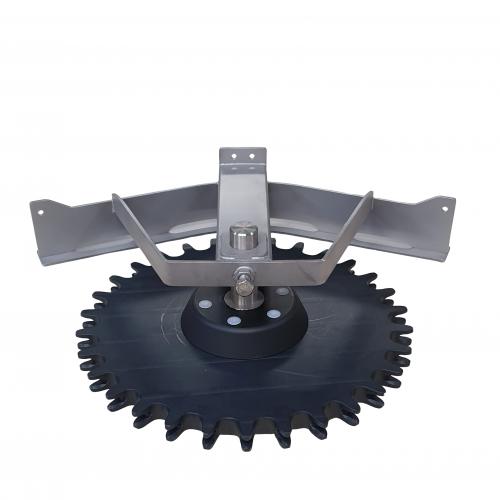 Compl. T-track bend 45º D=485 | OC.10.485.045.Z30
