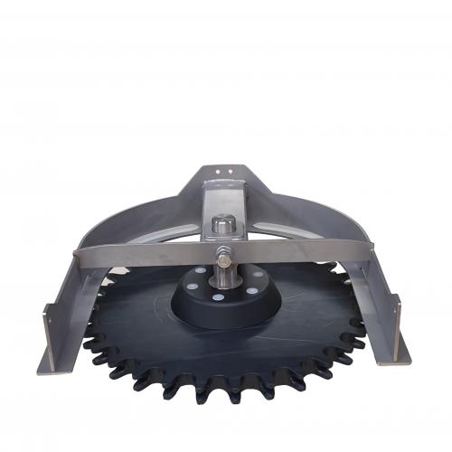 Compl. T-track bend 180º D=485 | OC.10.485.180.Z30