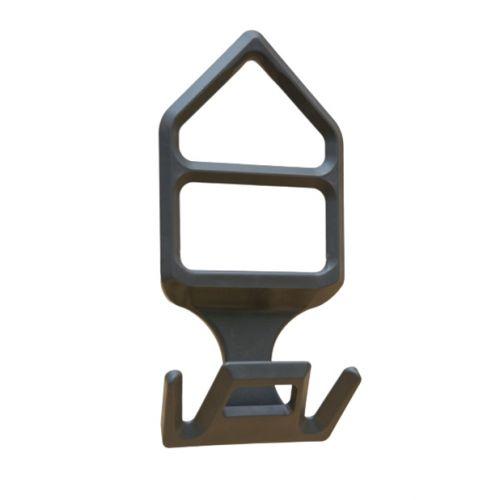 Weighing shackle 2 legs grey 244 gr. | OC.10.104