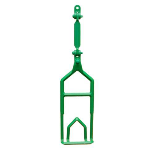 Complete ev. shackle 12mm green   OC.10.518