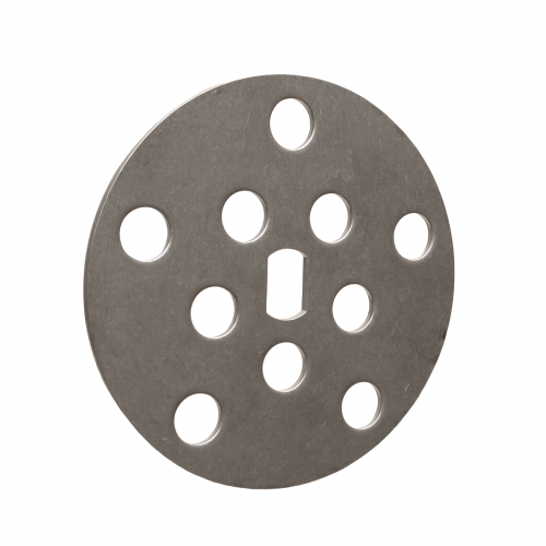 S.S. finger disc, 10 holes | PL.20.034
