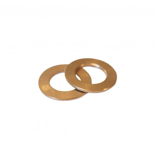 Brass ring 18x10,5x1 | EV.20.007