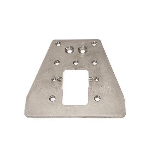 S.S. plate 130x120x6 | RH.20.020