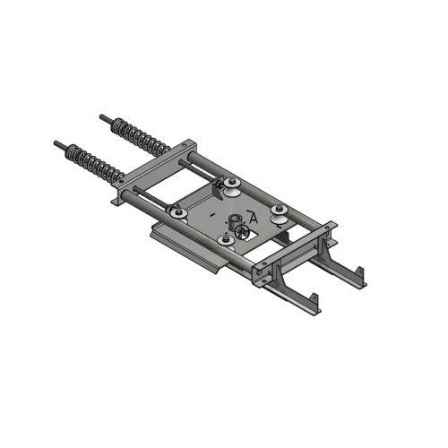 Spring T-track tensioner D=291mm | OC.10.ST291