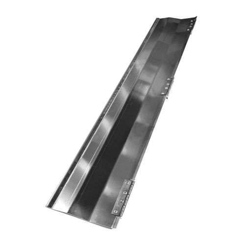 Alu. plate incl. mounted hinges | CS.20.018