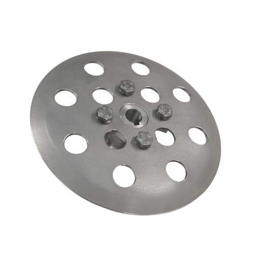 Finger disc complete with hub 12 holes | PL.10.503