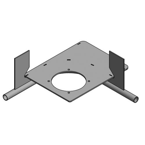 Drive unit base plate D=485mm 90º | OC.40.D485.090R