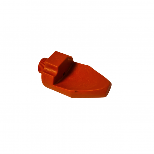 Red flat jet nozzle 3/8 diam. 5 | IO.40.038