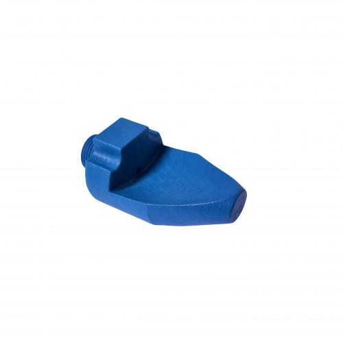 Blue nozzle flat jet 3/8 diam. 3 | IO.40.039