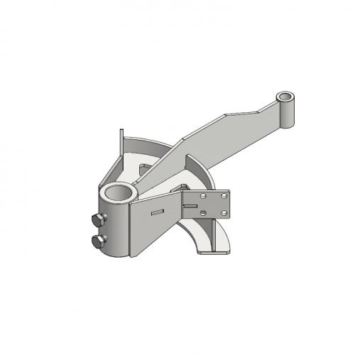 T-track bend frame 90º D=291mm | OC.20.291.090