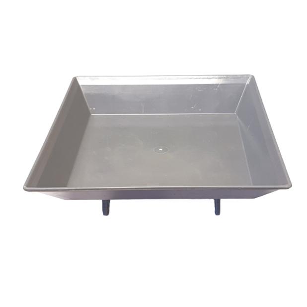 """Synthetic tray, grey 8""""   PC.10.005"""