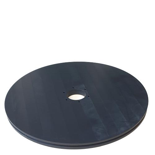 Plain idler wheel 654mm | OC.654.090.6Z