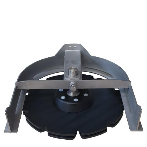 Compl. T-track bend 180º D=485 | OC.10.485.180.106Z