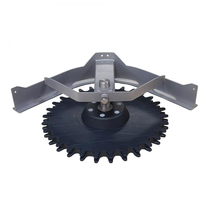 Compl. T-track bend 90º D=485 | OC.10.485.090.Z30