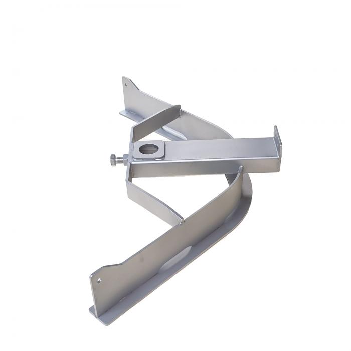 T-track bend 90º D=388mm | OC.10.388.090