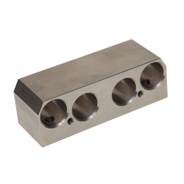 S.S. peeler shaft bearing block | GH.10.017