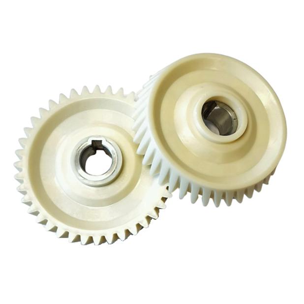White conical Gearwheel Z=40 | PL.40.002C
