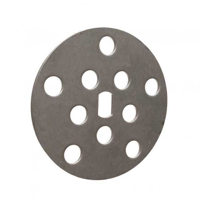 S.S. finger disc, 10 holes | PL.20.034