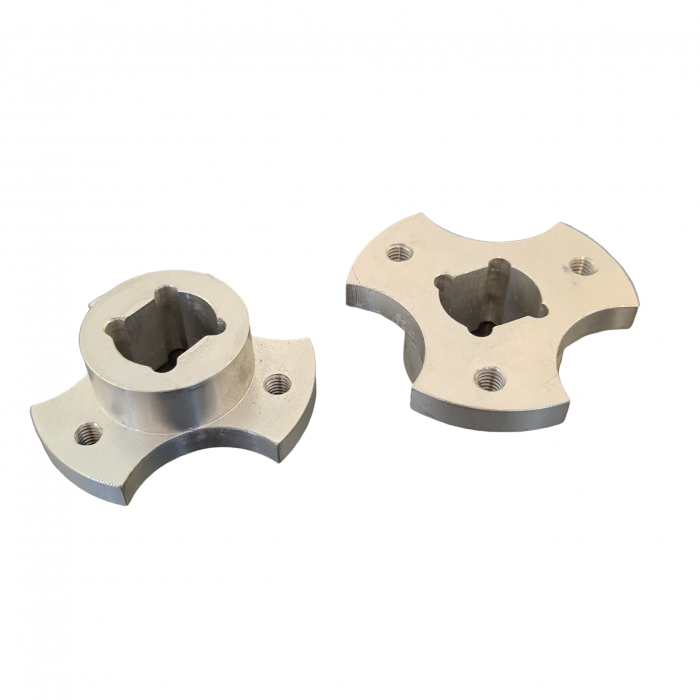 Alu. finger disc holder | PL.60.002