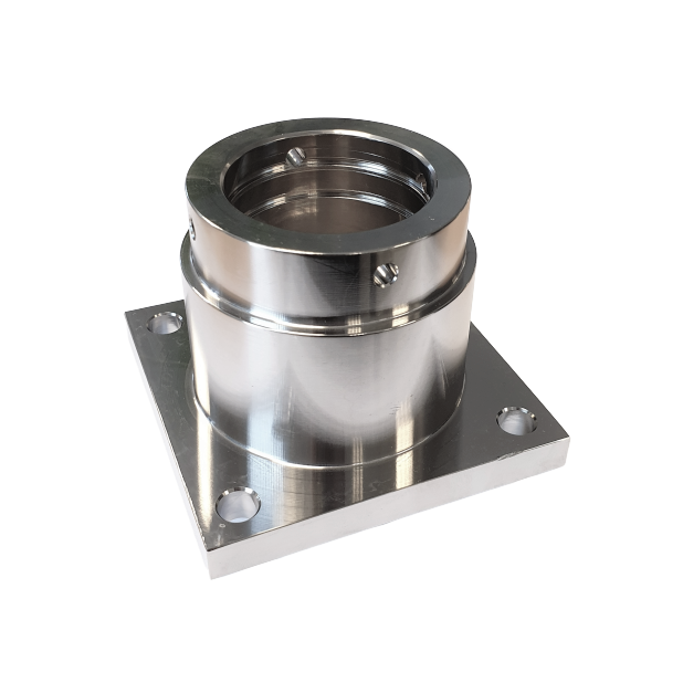 Alu. bearing housing bevel gearbox | DM.10.009
