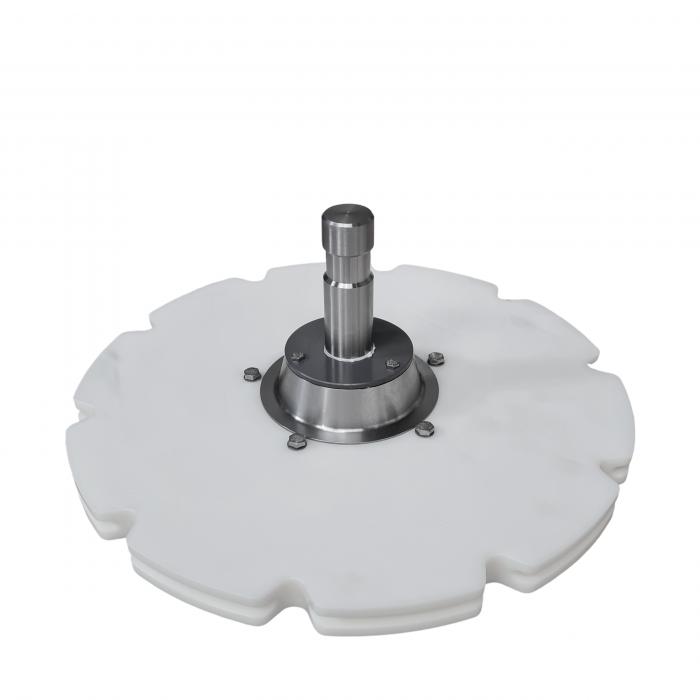 """Idler wheel 10x6"""" D=485mm S.S. hub   OC.10.527R"""