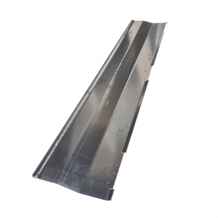 Alu. plate excl. mounted hinges | CS.20.019