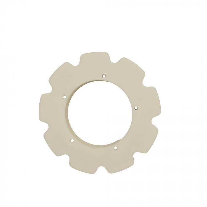 "Idler rim 9x4"" D=291mm bore=155mm | OC.10.035"
