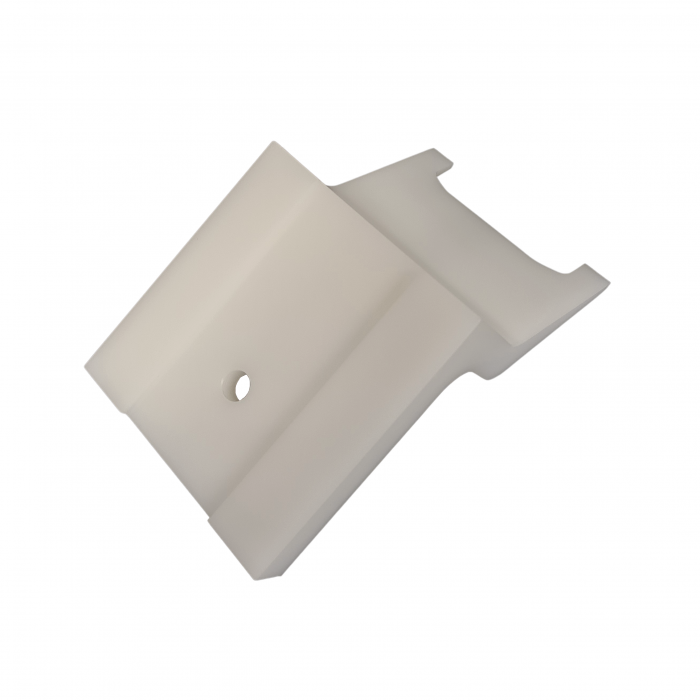 Upper block with 1 mounting hole | MA.10.006A