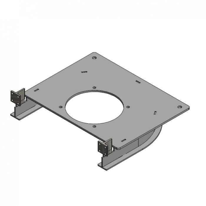 Drive unit base plate D=485mm 180º   OC.10.D485.180