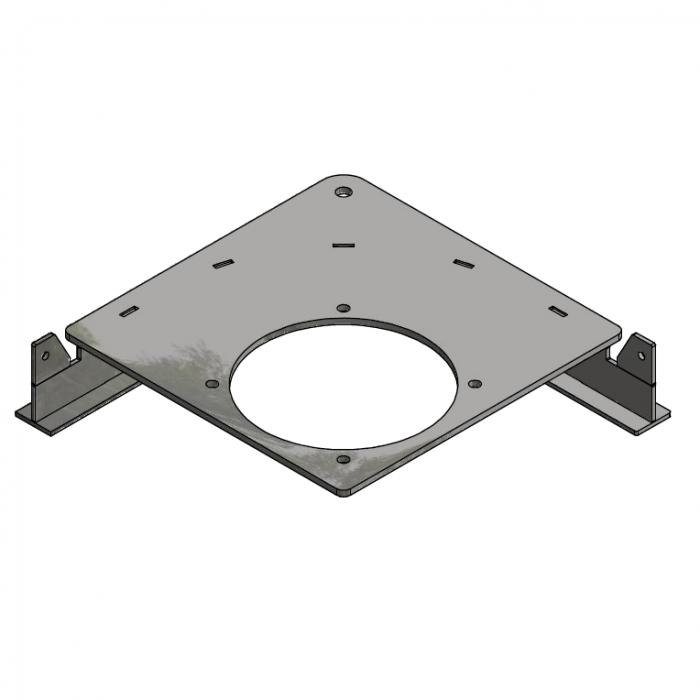 Drive unit base plate D=485mm 90º | OC.10.D485.090M