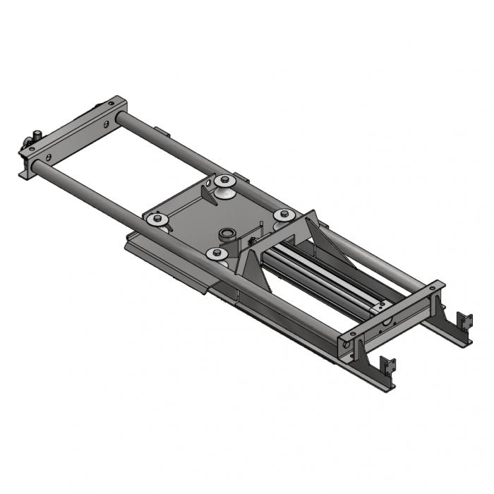 Pneumatic T-track tensioner D=388mm | OC.20.PT388