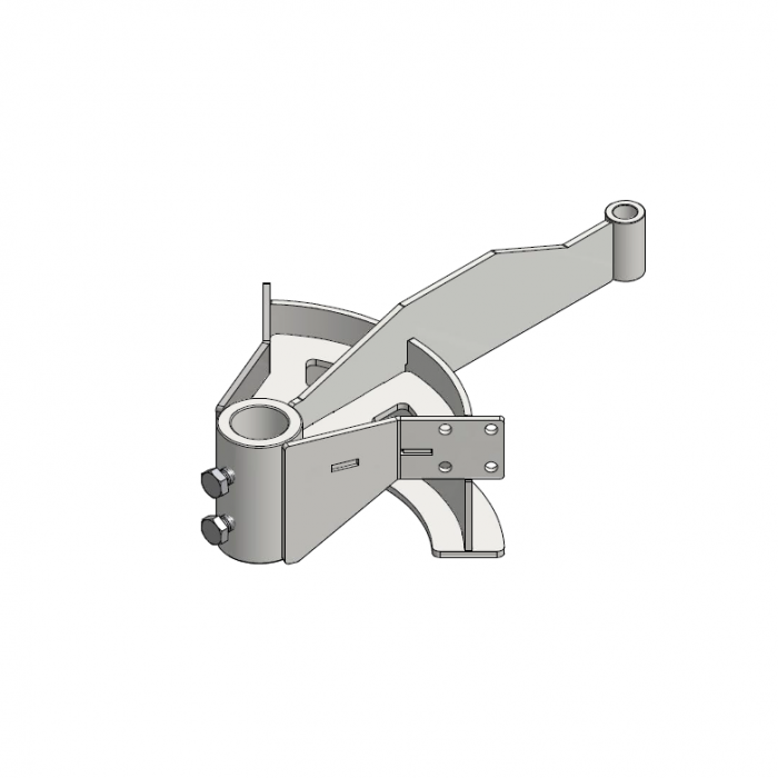 T-track bend frame 90º D=291mm   OC.20.291.090