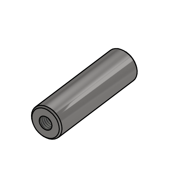 S.S. shaft L=68 | NC.40.005