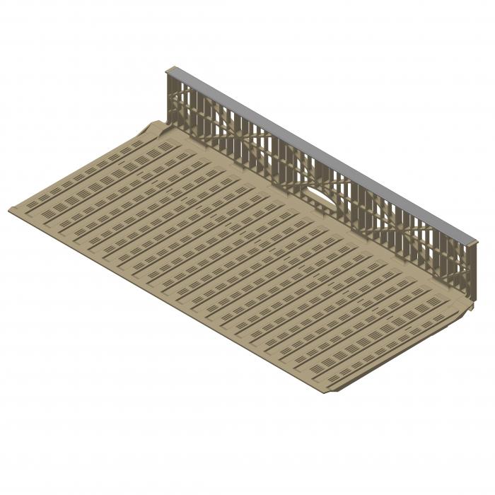 Floor panel 4L version   CS.20.020